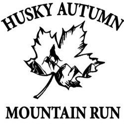 Husky Autumn  Mountain Run